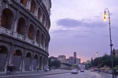 O Colosseum em Roma Fotografia de Stock
