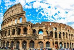 O Colosseum em Roma, Itália. Fotografia de Stock Royalty Free