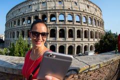 O Colosseum em Roma Italy Imagens de Stock Royalty Free
