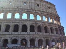 O Colosseum ou o coliseu, Flavian Amphitheatre fotos de stock royalty free