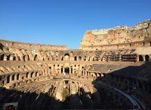O Colosseum ou o coliseu, igualmente conhecido como Flavian Amphitheatre foto de stock royalty free