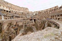 O Colosseum ou o coliseu, Roma, Itália imagens de stock royalty free
