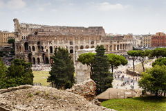O Colosseum, Roma Foto de Stock Royalty Free
