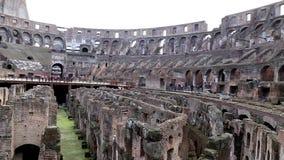 O colosseum romano video estoque