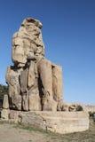 o colosso de Memnon Imagem de Stock Royalty Free