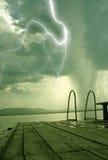 O começo do furacão Fotografia de Stock Royalty Free