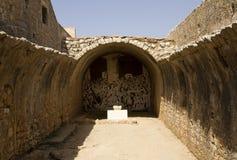 O compartimento de pó, Arkadi Monastery, Creta Foto de Stock Royalty Free