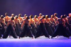 A 10o competição da dança do festival de arte de China Imagem de Stock