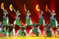 A 10o competição da dança do festival de arte de China, coreana Fotografia de Stock Royalty Free