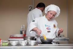 8o Competições internacionais que cozinham TB0 0N Europa do Sul Imagens de Stock Royalty Free