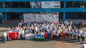 8o Competições internacionais que cozinham TB0 0N Europa do Sul Foto de Stock