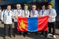 8o Competições internacionais que cozinham TB0 0N Europa do Sul Fotos de Stock