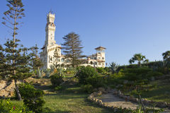O complexo de Montaza - o palácio do al-Haramlik Imagens de Stock Royalty Free