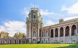 O complexo do palácio Museu-reserva Tsaritsyno Imagem de Stock Royalty Free