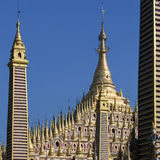 Thambuddhei Paya - Monywa - Myanmar Imagens de Stock