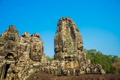 O complexo do templo de Angkor Fotografia de Stock Royalty Free