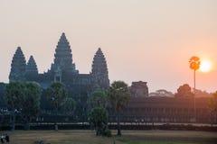 O complexo do templo de Angkor Fotografia de Stock