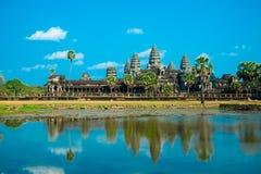 O complexo do templo de Angkor Imagem de Stock