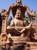 O complexo do templo de Hampi, um local do patrimônio mundial do UNESCO em Karnataka, Índia imagem de stock royalty free