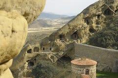O complexo monástico de David Gareja fotografia de stock royalty free