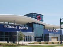 O complexo nacional do corredor da fama do futebol em Frisco, Texas fotografia de stock royalty free