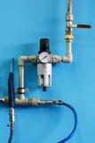 O compressor Imagens de Stock