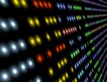 O computador ilumina a ilustração. Imagens de Stock Royalty Free