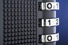 O conceito da criptografia e da proteção de dados Fotografia de Stock
