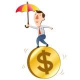 O conceito da estabilidade dos preços Imagens de Stock