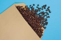 O conceito de importações do café, exportando o café Negócio do café do conceito do negócio Fotos de Stock