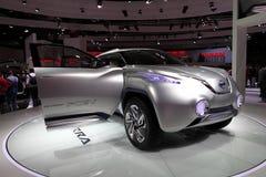 O conceito de Nissan TeRRA SUV Fotografia de Stock Royalty Free