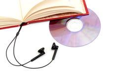 O conceito do audio-livro Fotos de Stock Royalty Free