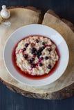 O conceito do café da manhã saudável comer Foto de Stock