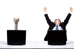 O conceito do homem de negócios Imagens de Stock