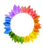 O conceito do símbolo alegre da cultura, sinal de LGBT é isolado nos vagabundos brancos Imagem de Stock