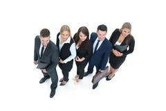 O conceito do sucesso no negócio e o negócio profissional team imagem de stock royalty free