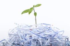 O conceito novo da vida com recicl Foto de Stock Royalty Free
