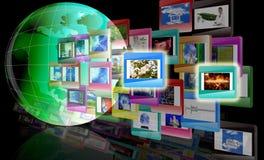 O conceito o Internet Fotos de Stock Royalty Free