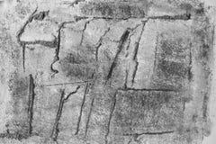 O concreto gosta do fundo, desenho da mão. Fotos de Stock