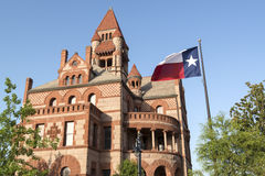 O Condado de Hopkins Texas Courthouse Imagem de Stock