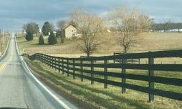O Condado de Lancaster Pensilvânia fotografia de stock royalty free