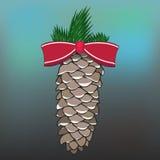 O cone do pinho Foto de Stock Royalty Free