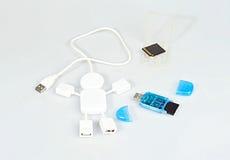 O conector de USB Foto de Stock Royalty Free