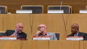 10o conferência internacional sobre a TIC para o desenvolvimento, educação Fotografia de Stock Royalty Free