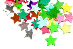 O confete stars a beira Fotos de Stock
