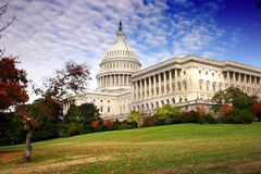 O congresso de Estados Unidos Imagens de Stock