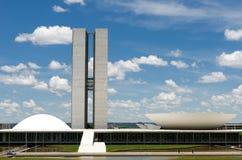 O congresso nacional de Brasil Imagens de Stock