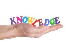 O conhecimento próprio é potência Imagem de Stock