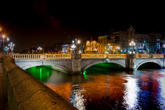 O`Connell Bridge in Dublin Stock Image