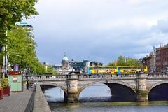 O`Connell Bridge, Dublin Stock Photos